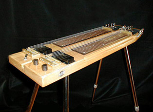 The stand guitar